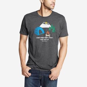 Men's Eddie Bauer Graphic T-Shirt - Don't Start